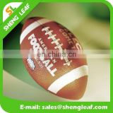 Leather or pu rugby ball with American football customize design