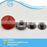 New fashionable high quality special design colorful paint metal snap button made in China