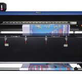High speed 4 colors sublimation flag printer machine