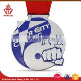Custom River City Classic Medal with Plain Ribbon