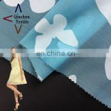 Bule butterfly burnout organza fabric for dress materials