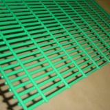 professional supplier curvy welded mesh fence for garden