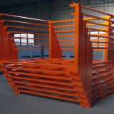 Powder coating steel stackable rack