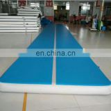 taekwondo home used 3 meter inflatable gymnastics air mat tatami outdoor tumble track airtrack