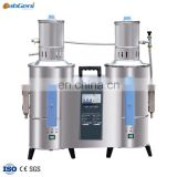 Auto Double Water Distiller, Stainless steel electric