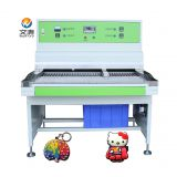 pvc rubber label patch making machine