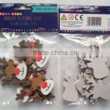 3D Chrismas EVA/Nonwoven Sticker