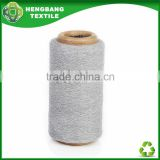 Grey color big loop jersey cotton fabric yarn 20s HB386 China