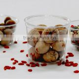 all sizes disposable deli container, plastic food container, PETE nuts can, take away food container