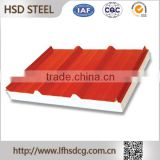 Buy wholesale direct from china Steel Sheets,house rooftop pu sandwich roof insulated panel