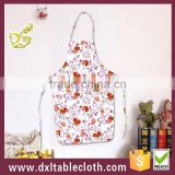 Household pe anti oil bib style waterproof plastic kitchen apron