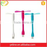 USB Charging Mini usb Stand Fan With Strong Wind                                                                         Quality Choice