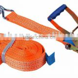 2 inch 50mm 5T Ratchet Tie Down ,cargo lashing belt,polyester webbing