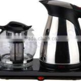 Stainless Steel Electric Kettle Set CE/CB