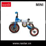 Rastar bicycle made in china BMW MINI licensed 3 wheel mini children bike