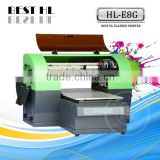 High Quality Machine, 8 Colors Multifunction Flatbed Printing Machine , A3 Inkjet Printer
