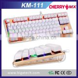 2016 New keyboard RGB Mechanical gaming keyboard with Cherry MX switch                                                                                                         Supplier's Choice