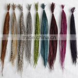 New arrival Hair Feathers Rooster Saddle Feathers Whitting Rooster Feathers