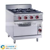 4 burners portable gas burners for cooking with range prices (SUNRRY SY-GB900B)