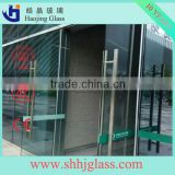 haojing factory supply tempered laminated glass price/color 6mm tempered laminated glass