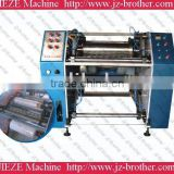 500mm semi-auto PE stretch film slitter rewinder machine