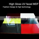 HIgh glossy kitchen cabinet furniture door material acrylic MDF board