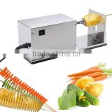 Electric Potato Slicer Vegetable Cutter French Fry Spiral Twister Chips Machine