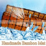 high quality handmade bamboo cooling chair mat for summer