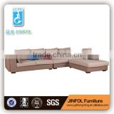2016 New Design Wooden Fabric I shape Sofa home furniture sectional sofa bed JF923