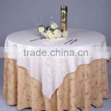100% satin polyester plain white hotel table skirting,hotel linens oval tablecloths ,High quality table cloth