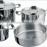 2013 new product 7pcs stainless steel cookware set stainless steel kitchenware wholesale(XM-3001)