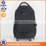 Fashionable Backpack Trolley 600D High Quality Material Laugage Bag Travel Trolley Luggage Laptop Trolley Bag