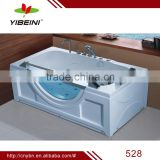 Massage Bathtub free standing Acrylic bathtub with pillow