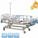 HR-623A three crank hospital electric bed electric medical bed equipment medical manual bed