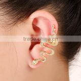 >> SW16421 Fashionable Punk animal snake cuff earrings/