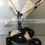 Gold Aluminium tube baby stroller 3 in 1china manufactured baby stroller                                                                         Quality Choice