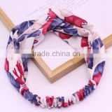 new arrival fashion floral hair elastic band hair bnad pictures