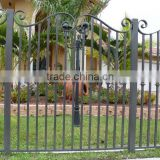 2015 Top-selling outdoor artistic iron gate fence                                                                         Quality Choice