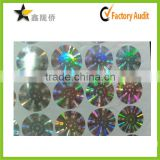 2015 alibaba custom printing 3D security authenticity hologram sticker                                                                         Quality Choice