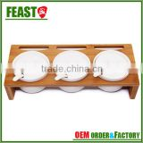 2015 NEW design decorative kitchen wooden sliding spice rack
