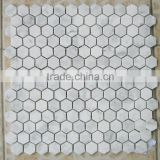 Carrara White Hexagon Marble Tiles