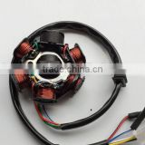 CG125 6 Magneto Coil Assy Scooter Stator and Rotor Engine Parts