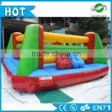 Happysky 0.55mm PVC inflatable fighting arena for adults, big gladiator joust, inflatable boxing platform for sale