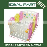 Plastic folded kids bed