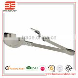 BBQ Buffet Kitchen Accessories Supply Tool Scallop Salad Cake Bakery Bread Sweet Clamp Food Ice Tong Stainless Steel