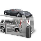 Two Post Two Level car parking equipment for Home Garage