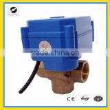 CWX-60P proportional adjust motorized ball valve 2way/3way for water flow control sytem