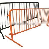 hot galvanized steel portable road barrier fence (China professional direct factory)