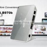 Stocks for low price Unlocked Original B970b Wireless 3G Router with sim card slot