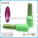 ANY Nail Beauty Salon Using UV Gel Curing Soak Off Bright Purple Cheap UV Gel Polish